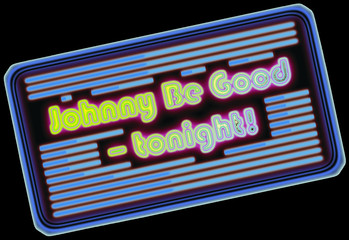 Johnny Be Good - tonight!